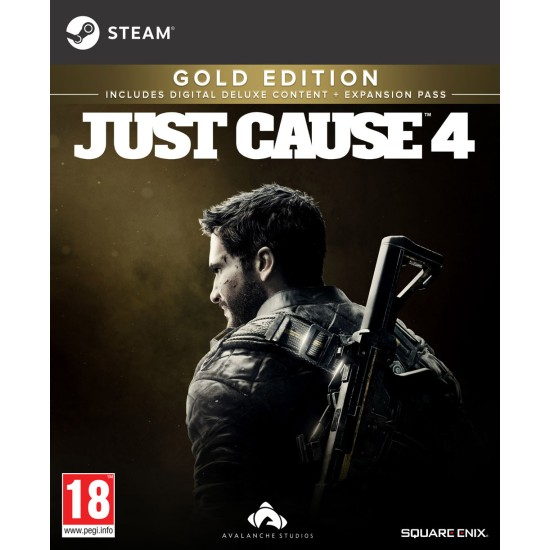 Just Cause 4 - Gold Edition - PC - Steam Digital Code