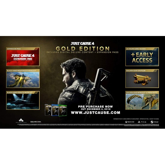 Just Cause 4 - Gold Edition | XB1
