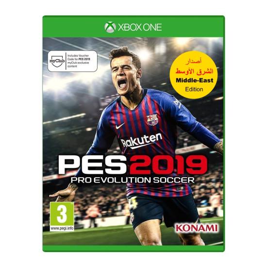 PES 2019 - Arabic Edition   XB1