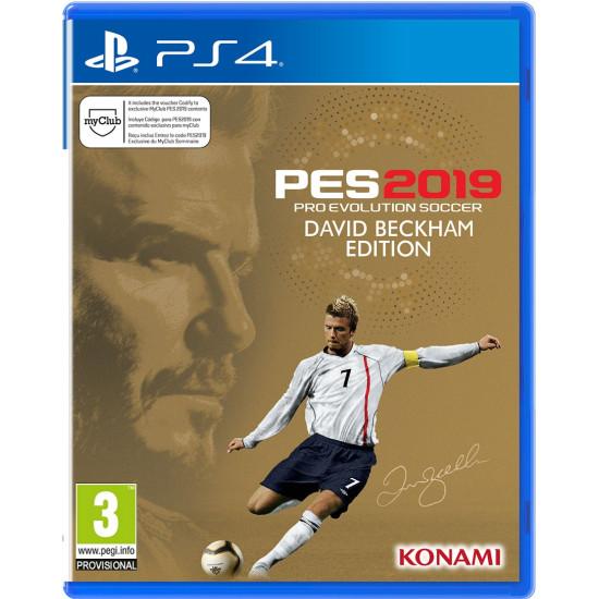 PES 2019 - David Beckham Edition - PlayStation 4
