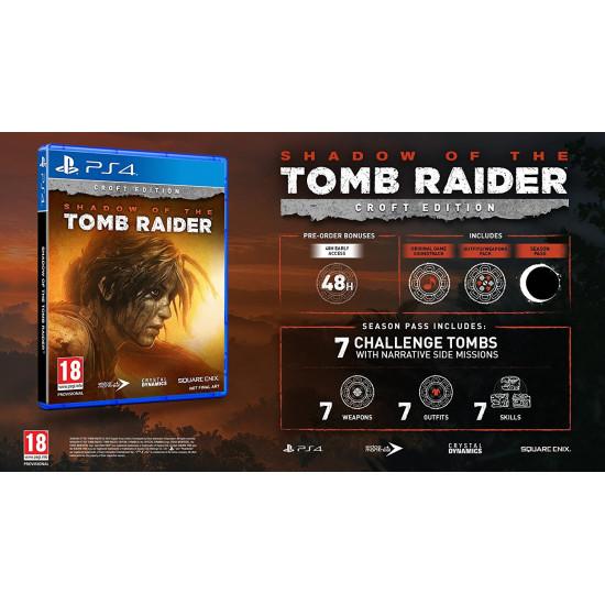 Shadow of the Tomb Raider - Croft Edition - PlayStation 4