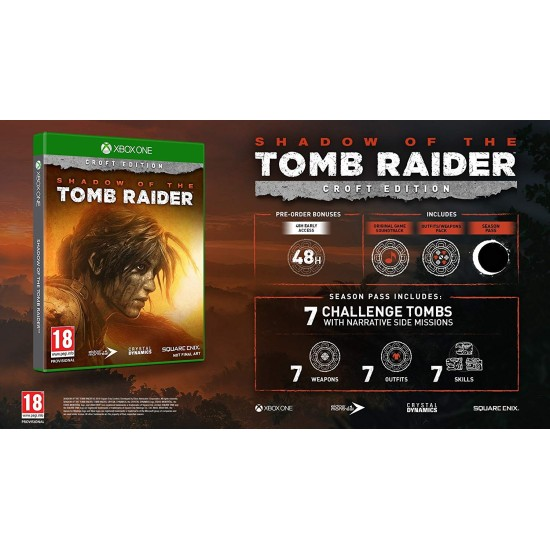 Shadow of the Tomb Raider - Croft Edition | XB1