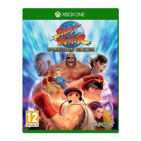Street Fighter 30th Anniversary Collection - XB1