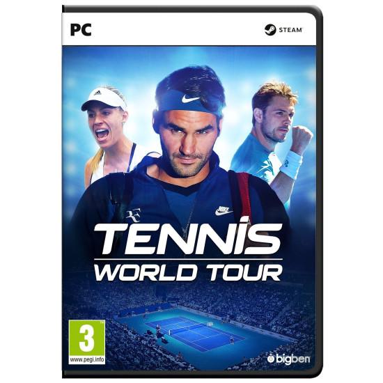 Tennis World Tour - PC Disc