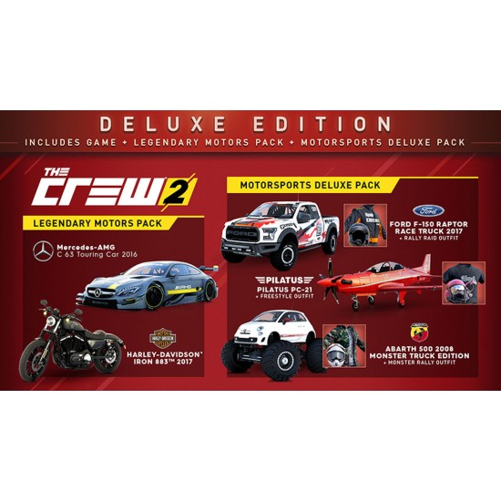The Crew 2 - Deluxe Edition | PS4