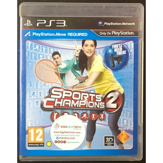Sports Champions 2 - Used Like New   PS3