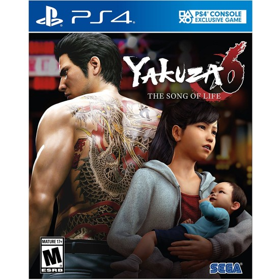 Yakuza 6 The Song of Life Essence of Art Edition | PS4
