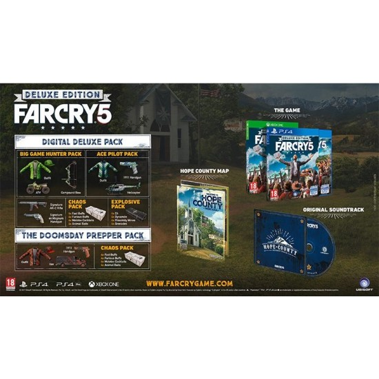 Far Cry 5 - Deluxe Arabic Edition | PS4