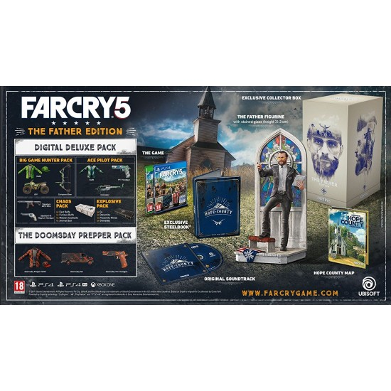 Far Cry 5 - Father Edition   PS4