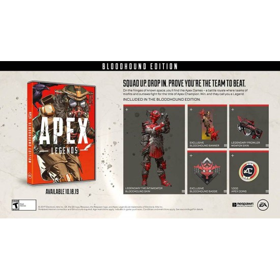 Apex legend bloodhound - Middle East Edition - PlayStation 4