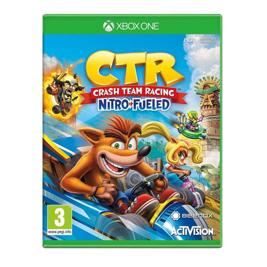 Crash Team Racing Nitro-Fueled - Arabic Dubbing - Xbox One