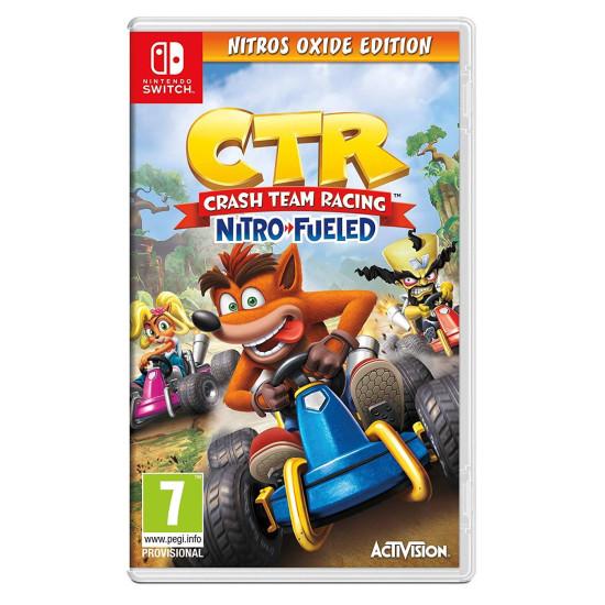 Crash Team Racing Nitro-Fueled - Nitros Oxide Edition - Include Arabic - Switch