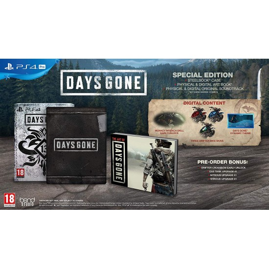 Days Gone - Special Edition - PlayStation 4