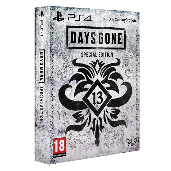 Days Gone - Special Edition - Middle East Edition - PlayStation 4
