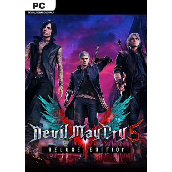 Devil May Cry 5 Deluxe Edition - PC Steam Digital Code