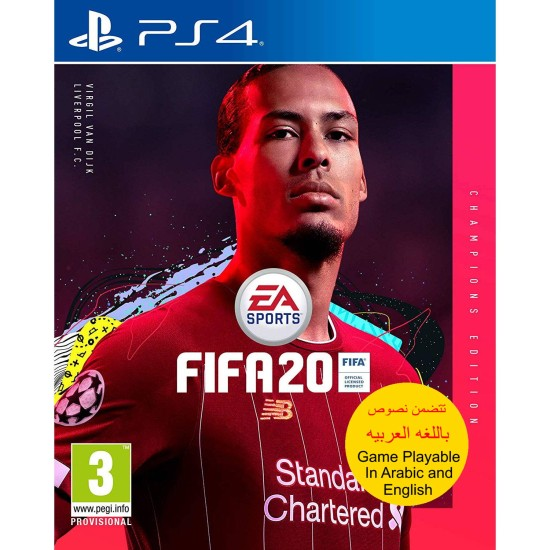 FIFA 20 Champions Edition - Include Arabic Commentary - PlayStation 4