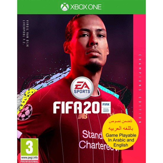 FIFA 20 Champions Edition - Include Arabic Commentary - Xbox One