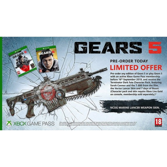 Gears 5 - Include Arabic - Xbox One