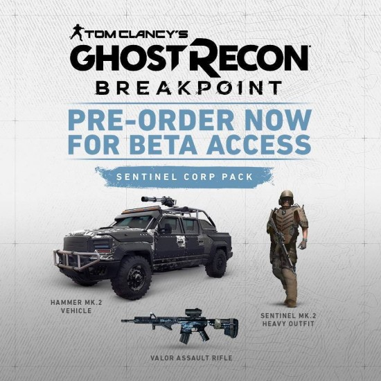Tom Clancys: Ghost Recon Breakpoint - PC Uplay Digital Code
