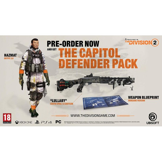 Tom Clancys The Division 2 Gold Edition - PlayStation 4