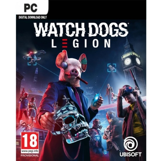 Watch Dogs: Legion EU Ubisoft Connect CD Key