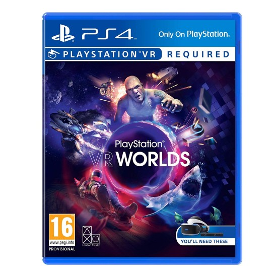 Worlds - PSVR - PlayStation 4