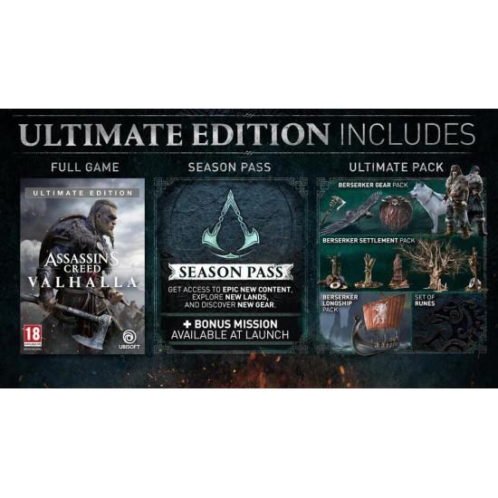 Assassins Creed Valhalla Ultimate Edition - PlayStation 4