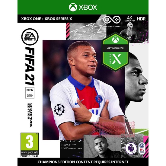 FIFA 21 Champions Edition - Include Arabic Commentary - Xbox One