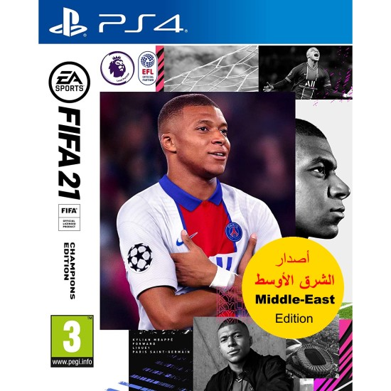 FIFA 21 Champions Edition - Middle East Arabic Commentary Edition - PlayStation 4