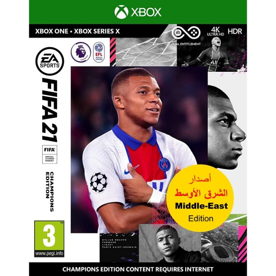 FIFA 21 Champions Edition - Middle East Arabic Commentary Edition - Xbox One