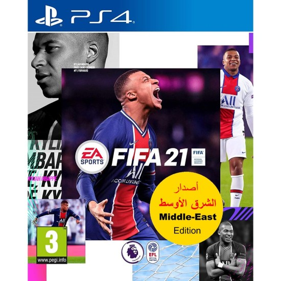 FIFA 21 - Middle East Arabic Commentary Edition - PlayStation 4