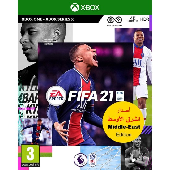 FIFA 21 - Middle East Arabic Commentary Edition - Xbox One
