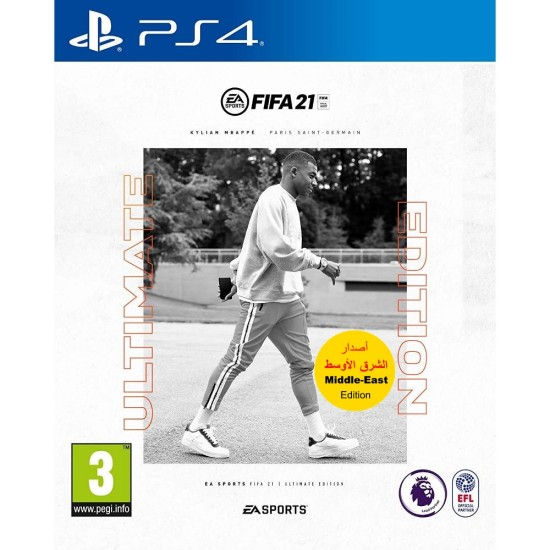 FIFA 21 Ultimate Edition - Middle East Arabic Commentary Edition - PlayStation 4