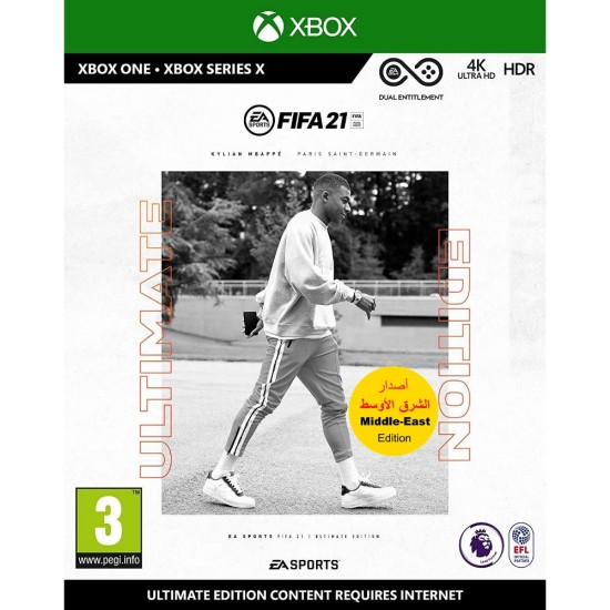 FIFA 21 Ultimate Edition - Middle East Arabic Commentary Edition - Xbox One