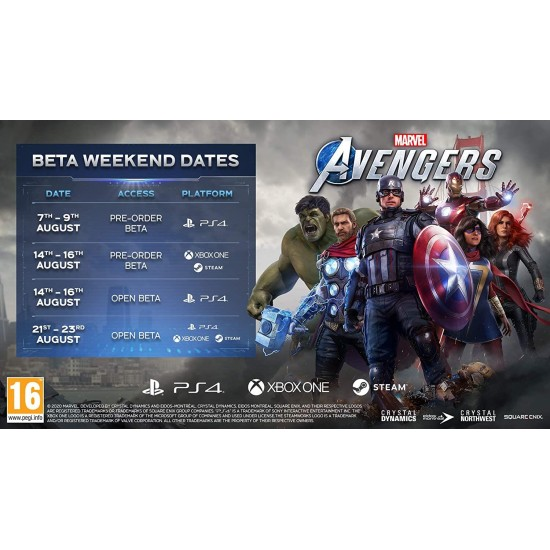 Marvels Avengers - Global Region - PC Steam Digital Code
