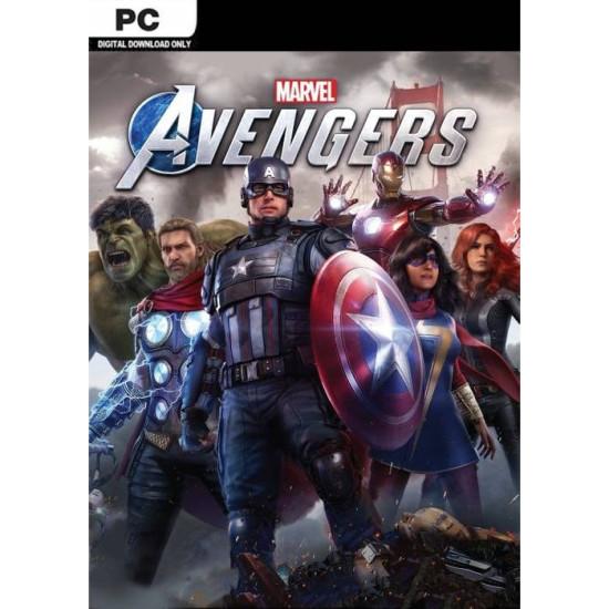 Marvels Avengers - Global Region - PC Steam Digital Code