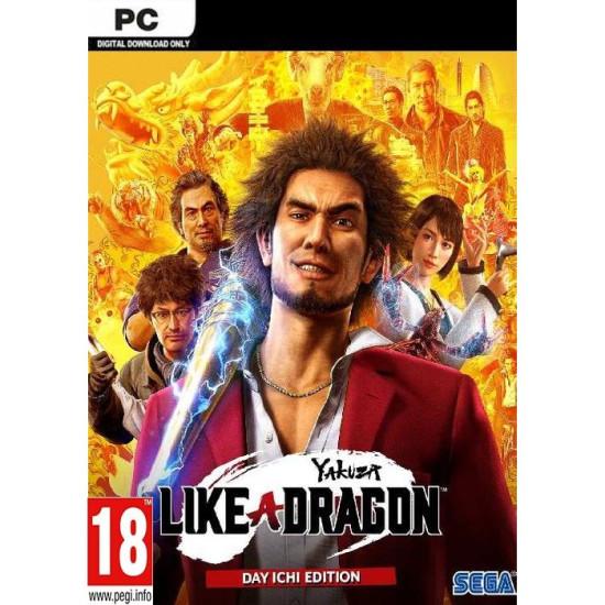Yakuza: Like a Dragon Day Ichi Edition - Global Region - PC Steam Digital Code