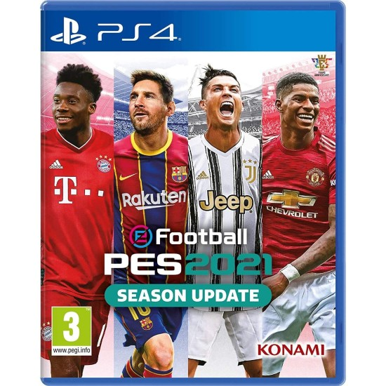eFootball PES 2021 - Include Arabic Commentary - PlayStation 4
