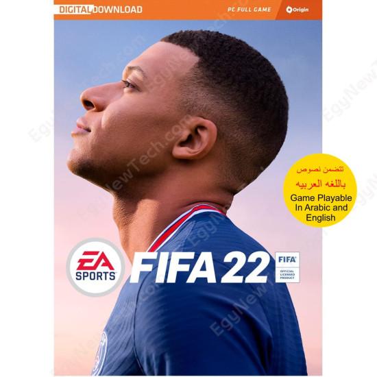 FIFA 22 - Global - Include Arabic commentary - PC Origin Digital Code
