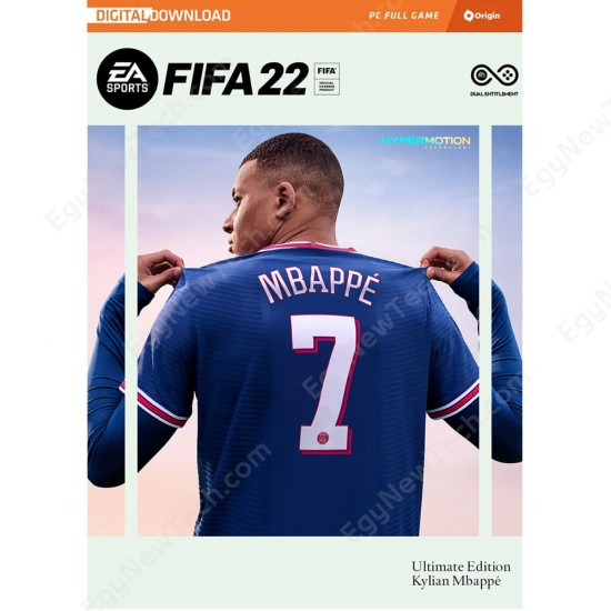 FIFA 22 Ultimate Edition - Global Except China - English - PC Origin Digital Code