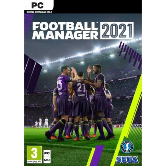Football Manager 2021 - Global Region - PC Steam Digital Code