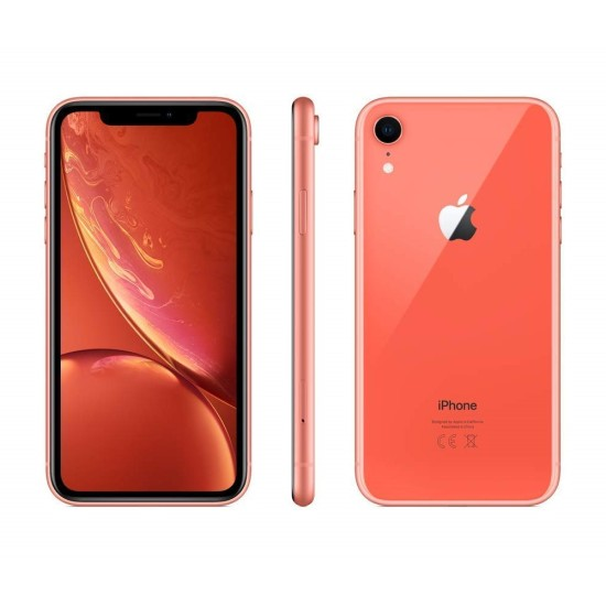 Apple Iphone XR With Face Time - 4G LTE,Coral