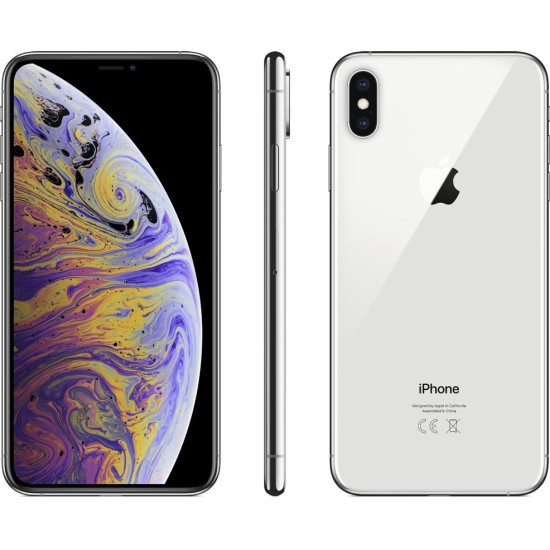 Apple iPhone Xs Max With FaceTime - 4G LTE - Silver