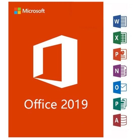 Microsoft Office Professional Plus 2019 - Phone Activation - Digital Code