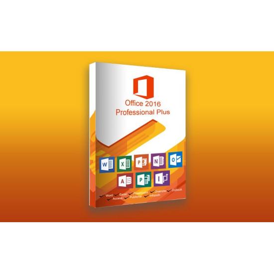 Microsoft Office Professional Plus 2016 - Digital Code