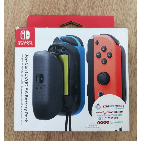 Nintendo Switch Joy - Con AA Battery Pack Accessory Pair - New - Open Box