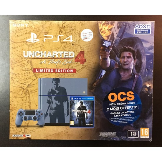 Sony PlayStation 4 Console - 1 TB Uncharted 4 - Limited Edition | Used like new