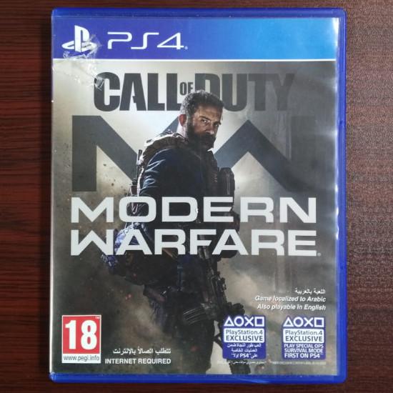 Call of Duty: Modern Warfare - Middle East Arabic Edition - Used Like New - PlayStation 4