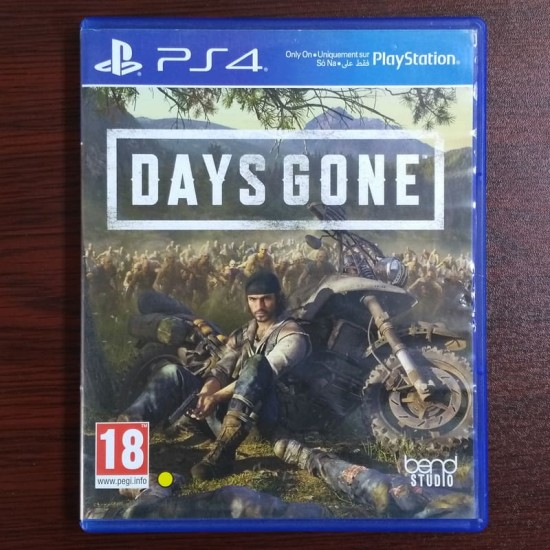Days Gone - Middle East Edition - Used Like New - PlayStation 4