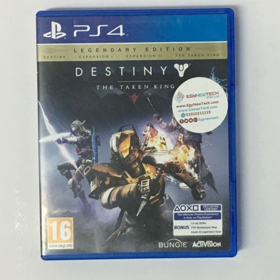 Destiny: The Taken King - USED LIKE NEW - PlayStation 4